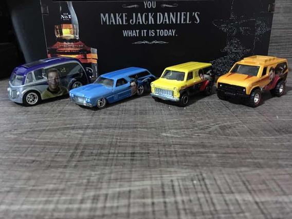 Hot Wheels Star Trek 4 Miniaturas Loose Colecionáveis