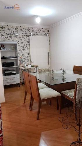 Apartamento Com 3 Dormitórios À Venda, 110 M² Por R$ 530.000,00 - Jardim São Dimas - São José Dos Campos/sp - Ap9315