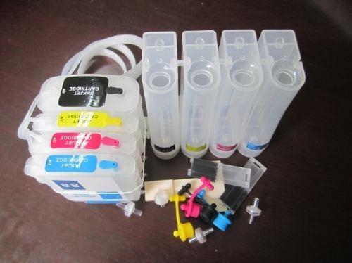 Imagen 1 de 6 de Instalacion Sistema Continuo De Tinta Para Impresoras Epson