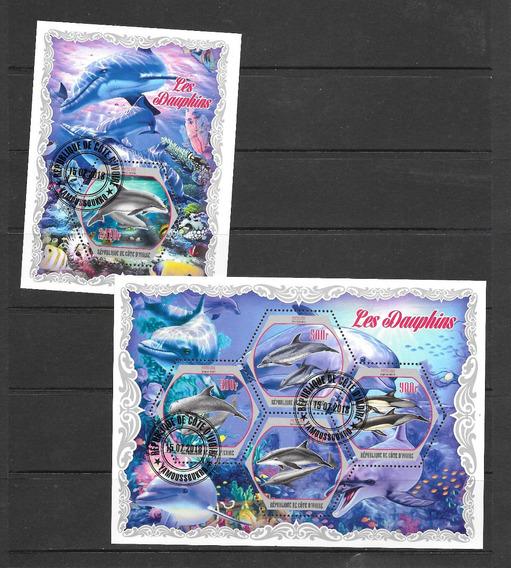 Costa De Marfil Vida Marina Delfines 2018 - 2 Hb Pde Cto