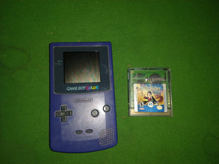Game Boy Color Con Juego De Harry Potter