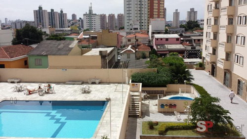Imagem 1 de 14 de Apartamento Com 3 Dormitórios À Venda, 98 M² Por R$ 640.000,00 - Tatuapé - São Paulo/sp - Ap3631