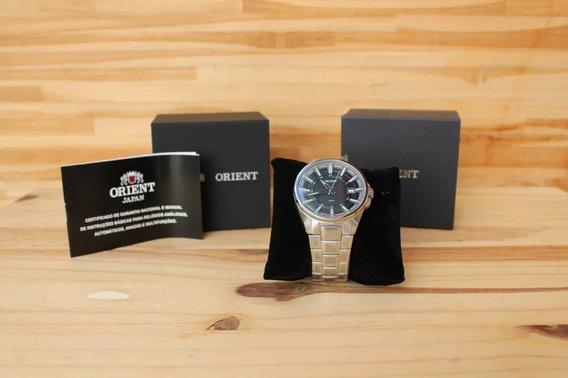 Relógio Oriente Masculino Mbss1313 Pasx Azul Analogico