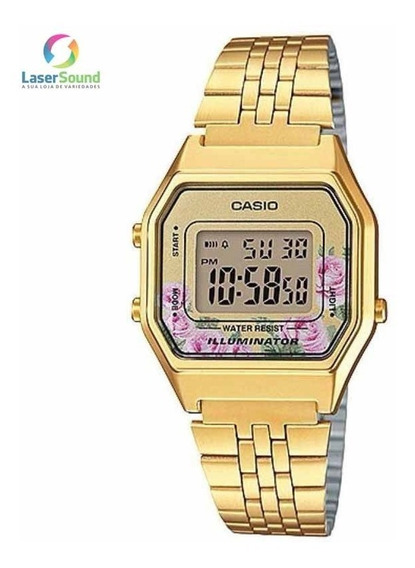 Relógio Casio Feminino Vintage La680wga-4cdf C/garantia E Nf