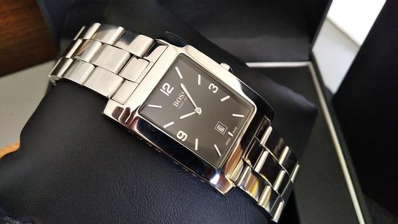 Relógio Hugo Boss Swiss Made Máquina Eta A Quartz Impecável!