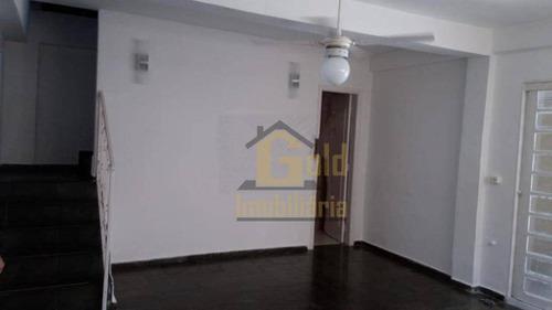 Casa Com 3 Dormitórios Para Alugar, 110 M² Por R$ 1.600/mês - Iguatemi - Ribeirão Preto/sp - Ca1127