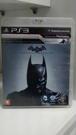 Jogo Para Ps3: Batman Arkham Origins. Frete Grátis!