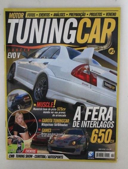 Revista Tuning Car - Mitsubishi Lancer Honda Civic Maverick