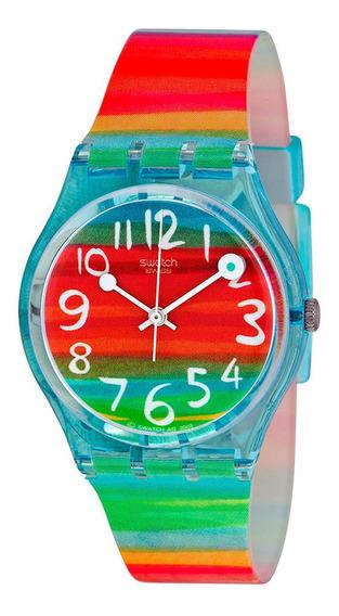 Relógio Swatch Feminino Color The Sky Gs124