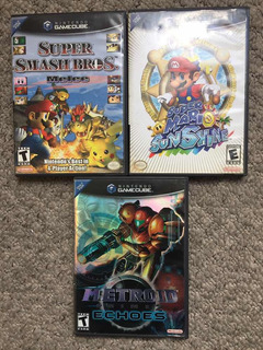 Juegos Gamecube Super Smash Melee Mario Sunshine Metroid