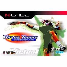Manual De Instruções Do Jogo Virtua Tennis N-gage Original