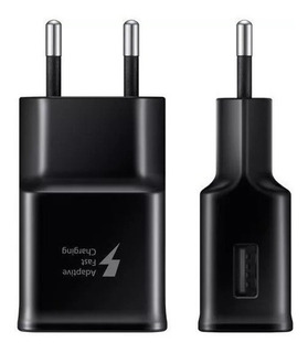 Carregador (fonte) Fast Charger Original S6 Edge Plus S7 S8 S9 S10 Note 4 8 9 10 A10 A20 A30 A50 A70 M20 M30 J4 J5 J7 J8