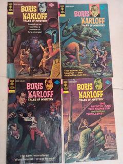 Revistas Boris Karloff Vintage