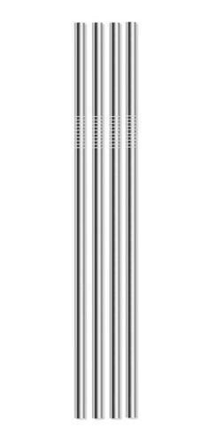 Sorbitos De Metal Ecológicos Pack 4 + Cepillo Ecoyo