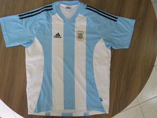 Argentina Camisa Original adidas Ano 2002