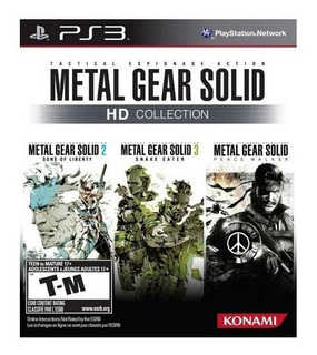 Metal Gear Solid Hd Collection Usado Garantia Ps3 Vdgmrs