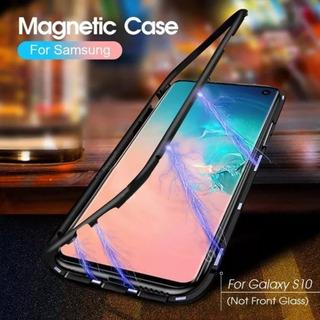 Case Magnético De Alumínio Samsung Galaxy S10 Em Cores