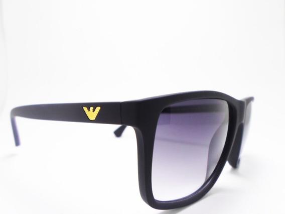 Oculos De Sol Giorg Arma Polarizado Fume Matte Ea40