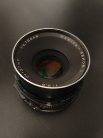 Lente Mamiya Sekor C 127mm F3.8