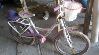 Bicicleta Niña Tomaselli Rodado 20