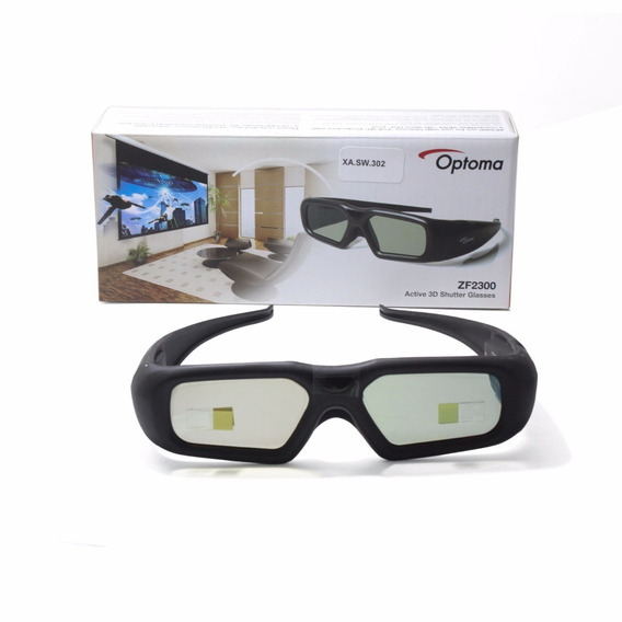 Oculos 3d Ativos Rf Optoma Zf2300