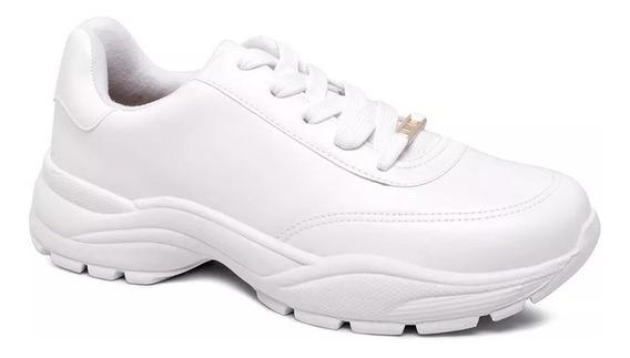 Tênis Chunky Vizzano Branco Original Sneaker