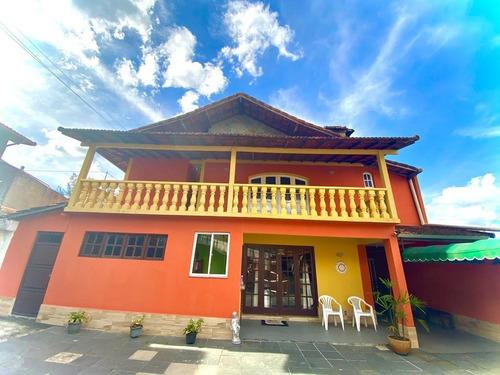 Casa Para Venda Em Teresópolis, Fazendinha, 6 Dormitórios, 3 Suítes, 6 Banheiros, 5 Vagas - C-541_2-1155777
