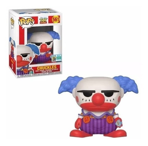 Funko Pop Toy Story 561 - Chuckles Sdcc