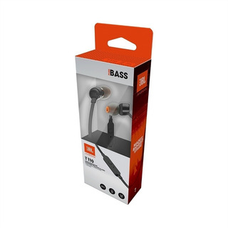 Auriculares Audifonos Manos Libres Jbl T110 Pure Bass