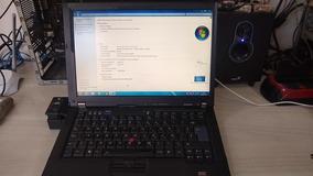 Notebook Lenovo T61 Com Porta Paralela E Serial
