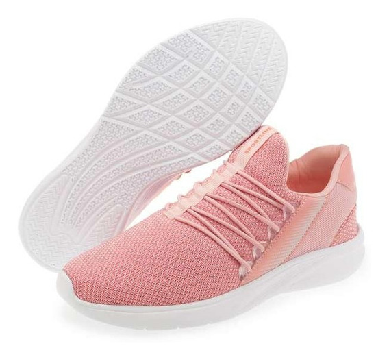 Tenis Deportivos Rosas Para Dama Ultra Confort Casual + Msi