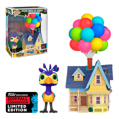 Funko Pop Town Disney Up! Exclusive Nycc 2019 Kevin Up House