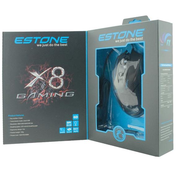 Mouse Usb Gamer X8