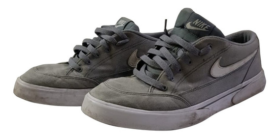 Tenis Nike All Court Borough Royale Sb Sl Tamanho 41 Original Casual Skate Cinza Freestep