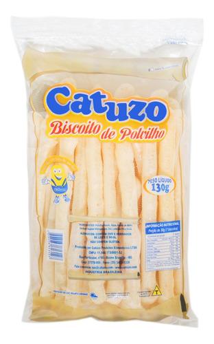 Imagem 1 de 1 de Biscoito Polvilho Tradicional Catuzo Palito 130g - Cx/ 15un