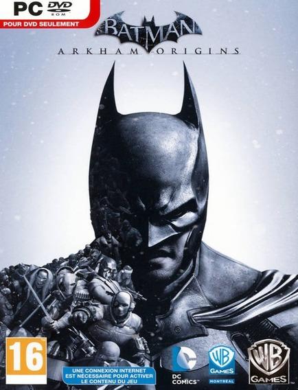 Batman Arkham Origins Pc - Steam Key (envio Flash)