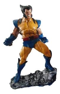 Figura Wolverine Coleccionable De Resina Hecha A Mano 42cm