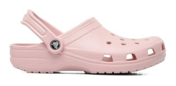 Crocs Originales Nena Classic Sin Banda Nude
