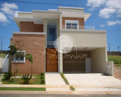 Imagem 1 de 20 de Casa A Venda No Residencial Alecrins Em Campinas  - Alphaville -  Imobiliária Em Campinas - Ca00955 - 69013869