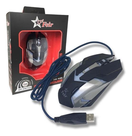 Mouse Gamer Óptico 7 Gaming 5500dpi Usb Original Feir