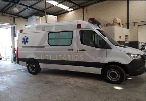 Sprinter 416 Ambulância Uti 2022 0km Pronta Entrega