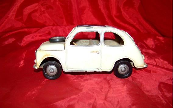 Fiat 600 De Chapa Excelente Estado Colección