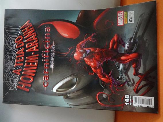A Teia Do Homem Aranha Carnificina Mínima Marvel Comics Hq