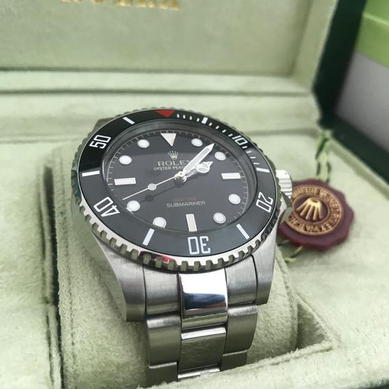 Reloj Rolex Submariner Cara Negra Con Caja 176r
