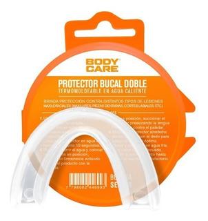 Protector Bucal De Polimero Doble Bruxismo Body-care Bc2006a