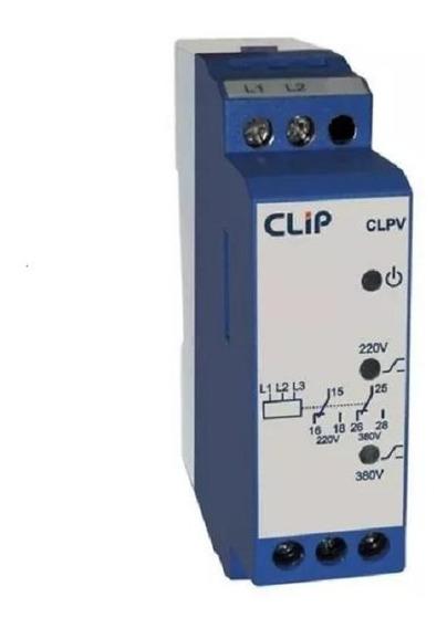 Clpv Rele Seletor De Voltagem 220 / 380v