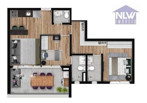 Imagem 1 de 23 de Apartamento À Venda, 68 M² Por R$ 770.000,00 - Santo Amaro - São Paulo/sp - Ap3263