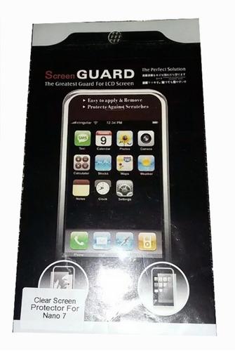 Protector De Pantalla Nano iPod 7