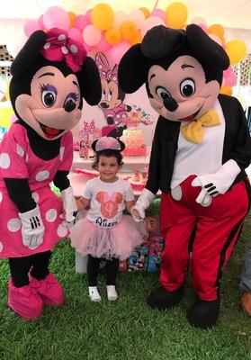 Show Muñecotes Mickey Dragon Bal Minnie Terror Carnaval Amor