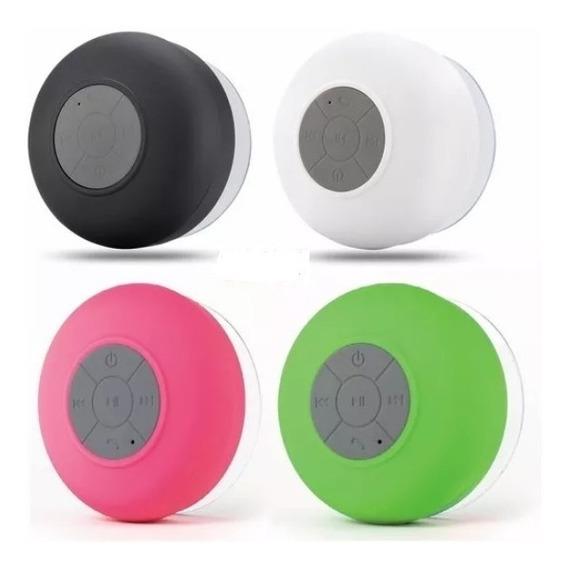 Mini Caixa De Som Ventosa Bluetooth Resiste Água Waterproof